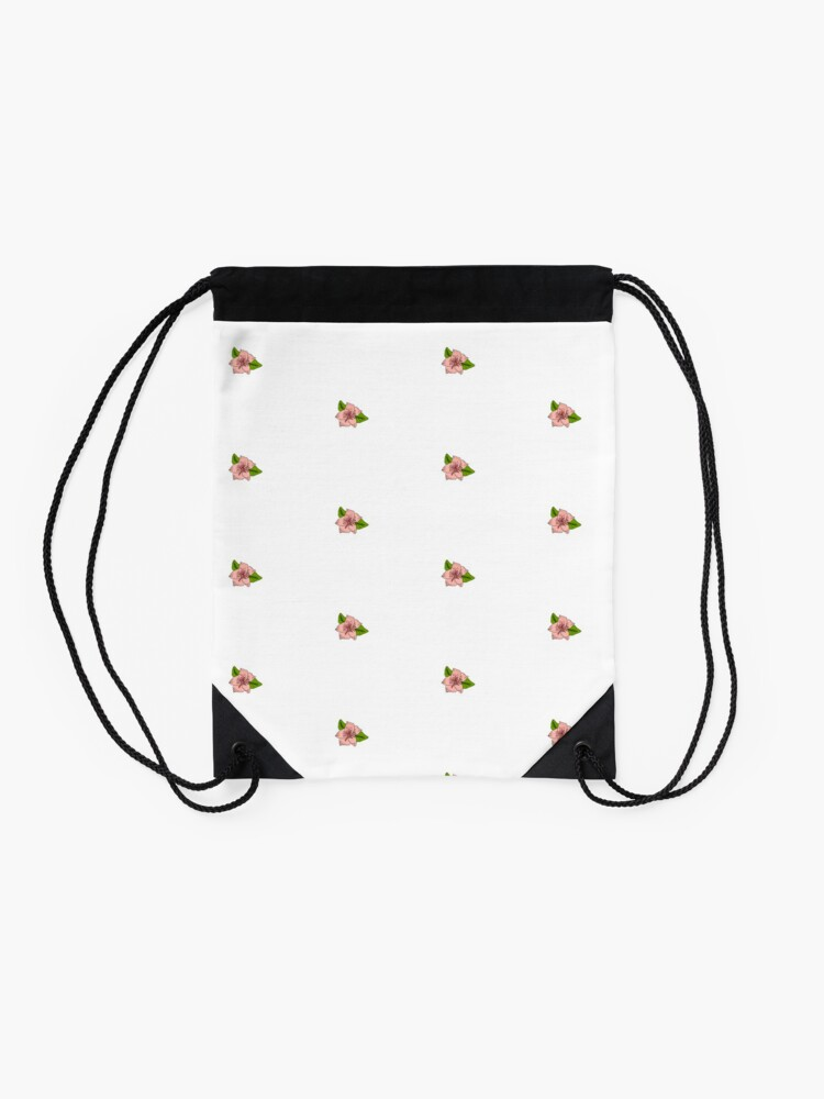 Alternate view of Cherry Blossom Collection Drawstring Bag