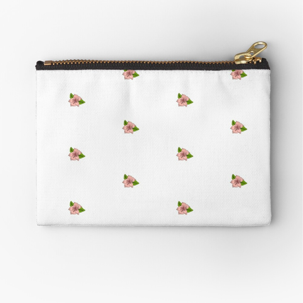 Cherry Blossom Collection Zipper Pouch