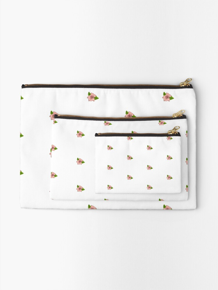 Alternate view of Cherry Blossom Collection Zipper Pouch