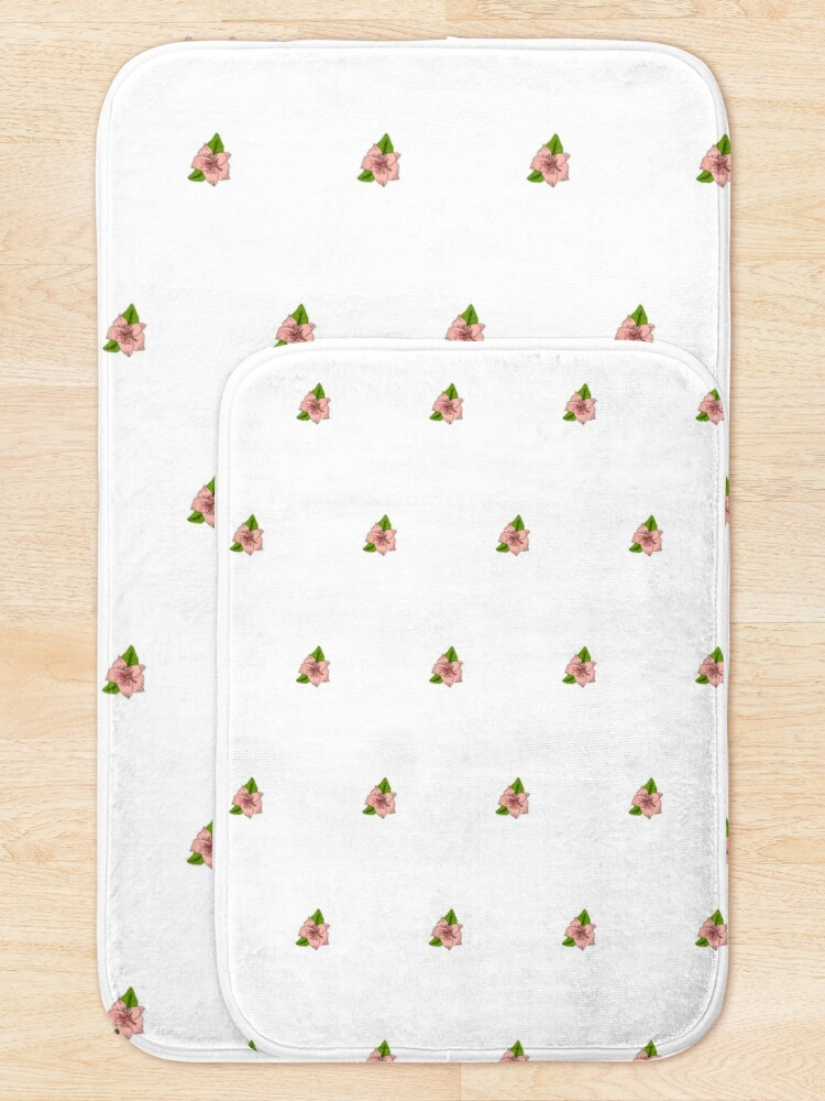Alternate view of Cherry Blossom Collection Bath Mat