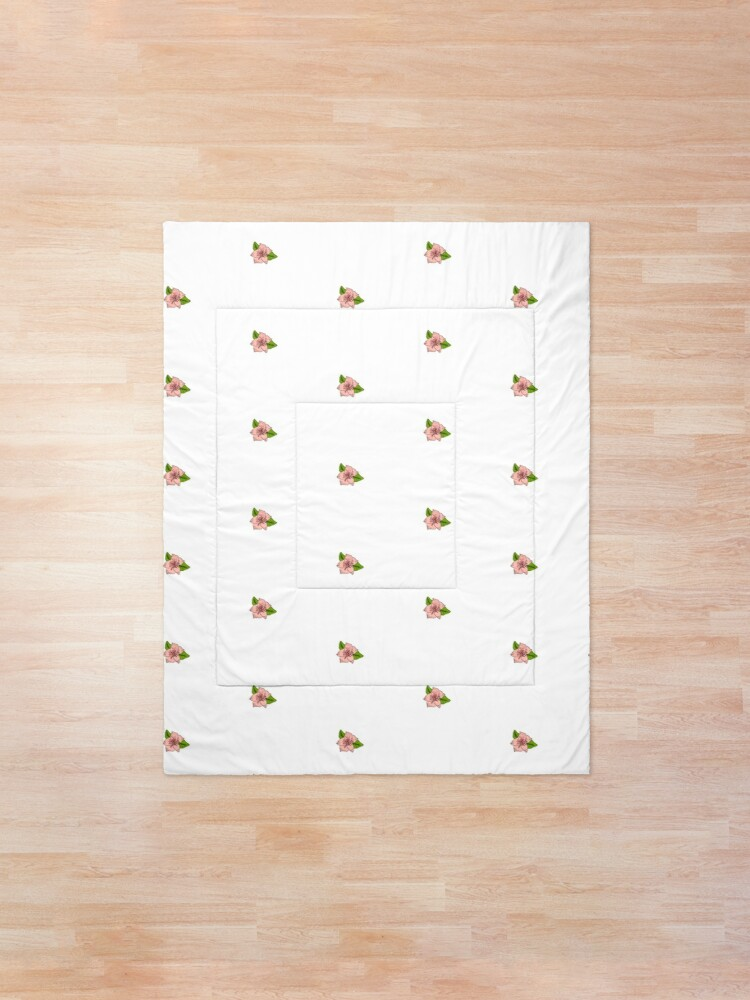 Alternate view of Cherry Blossom Collection Comforter