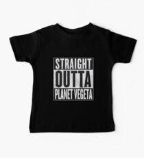 Straight Outta Planet Vegeta - Dragon Ball Z Baby Tee