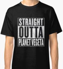 Straight Outta Planet Vegeta - Dragon Ball Z Classic T-Shirt