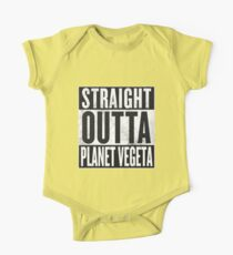Straight Outta Planet Vegeta - Dragon Ball Z Kids Clothes