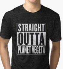 Straight Outta Planet Vegeta - Dragon Ball Z Tri-blend T-Shirt