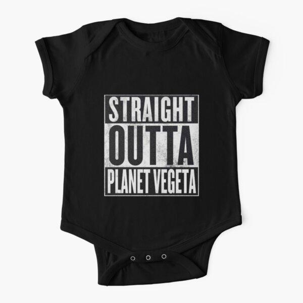 Straight Outta Planet Vegeta - Dragon Ball Z Short Sleeve Baby One-Piece