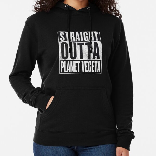 Straight Outta Planet Vegeta - Dragon Ball Z Lightweight Hoodie