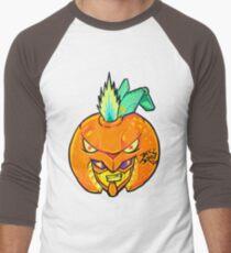 Fruity Hero // Orange Gunner Men's Baseball ¾ T-Shirt