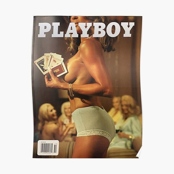 Playboy Magazine Cover Poster