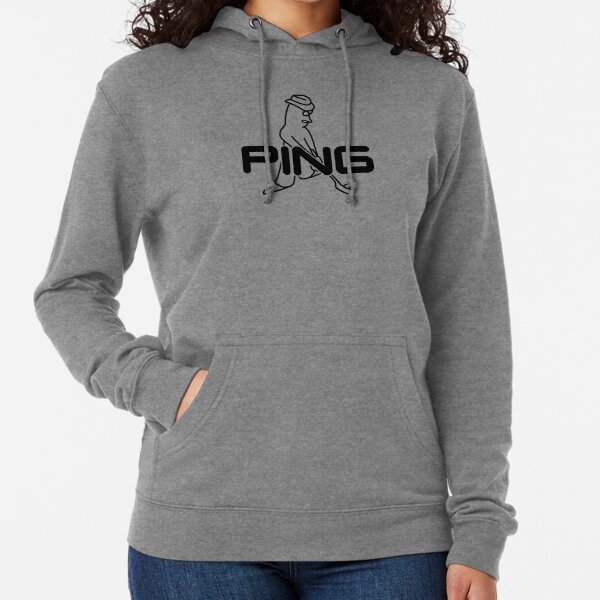 Ping Golf Icon Logo Black Lightweight Hoodie