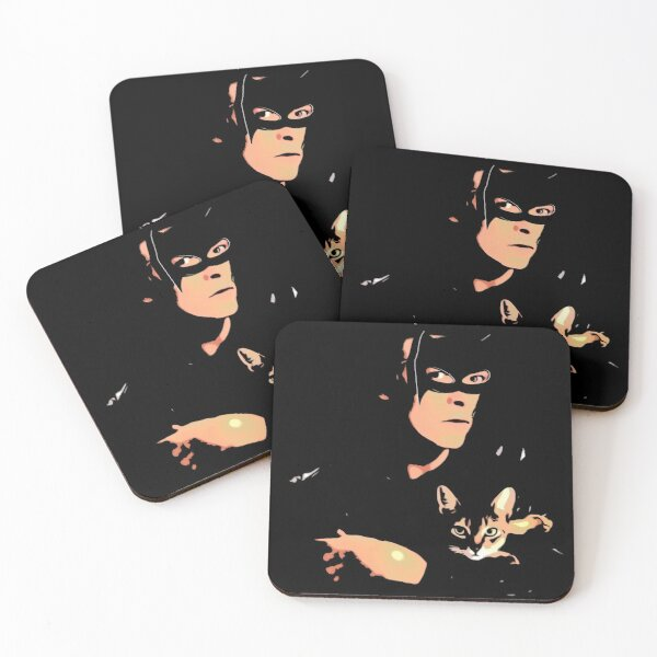 Catman Coasters (Set of 4)