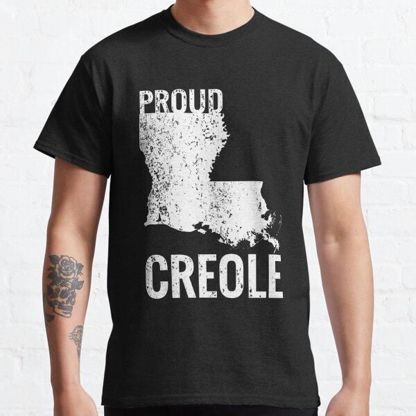 Carte de la Louisiane créole fier T-shirt classique