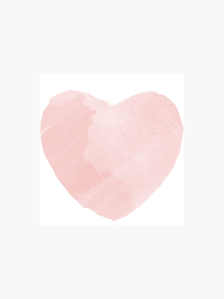 Blush Pink Love Heart Collection by Macduffl