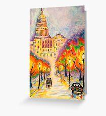 Washington D.C. - The Capitol at Dusk Greeting Card