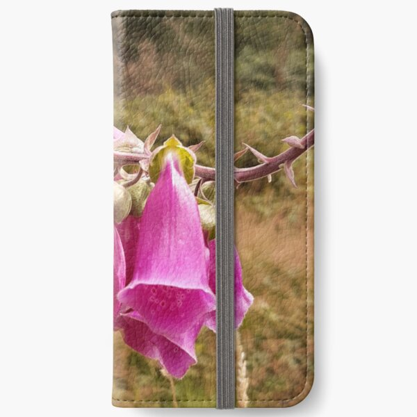 Foxgloves at Ashdown Forest iPhone Wallet
