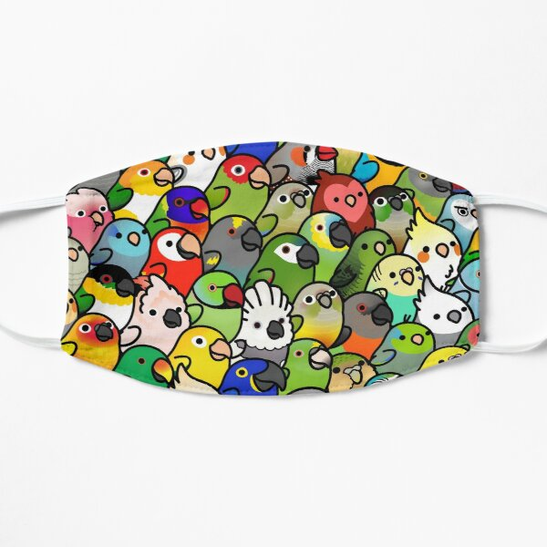 Everybirdy Pattern Mask