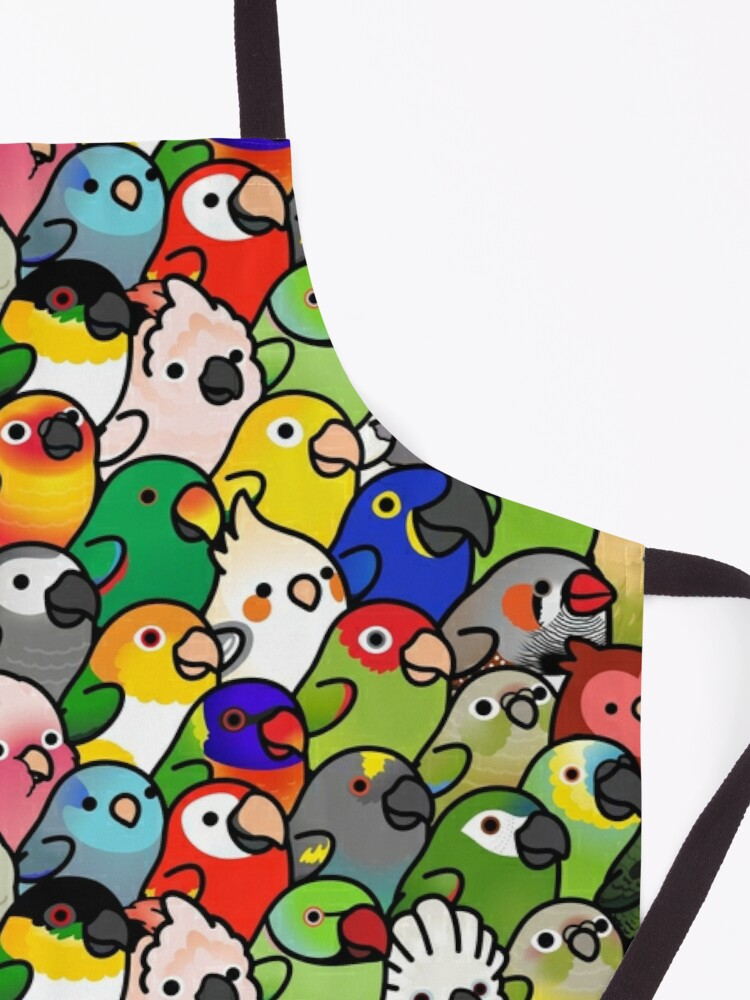 Alternate view of Everybirdy Pattern Apron