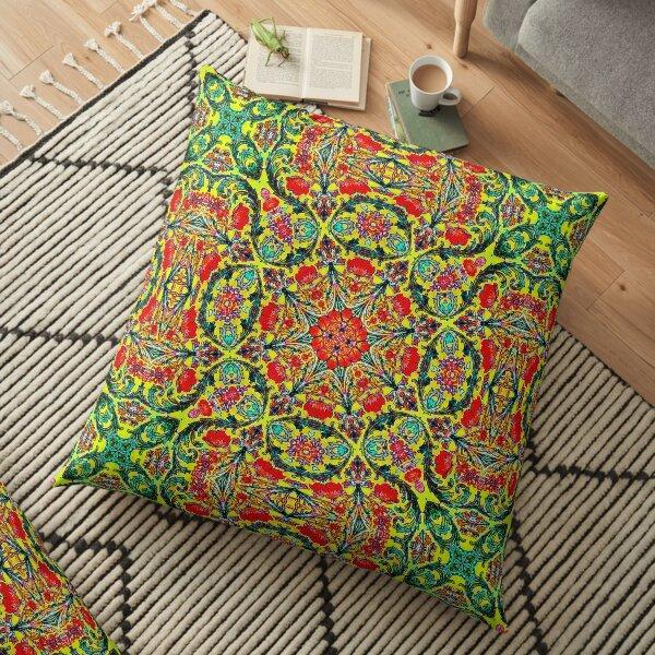 Krazy Kaleidoscope 1029 Floor Pillow