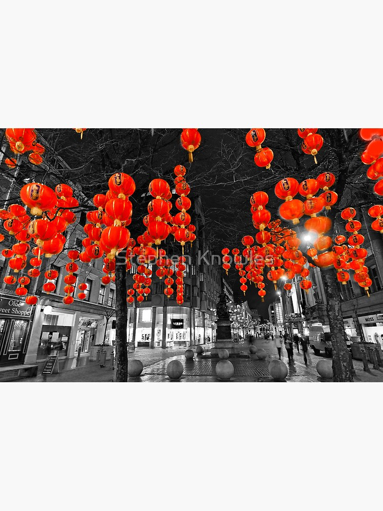 Chinese Lanterns (Selective colour) by stephenknowles
