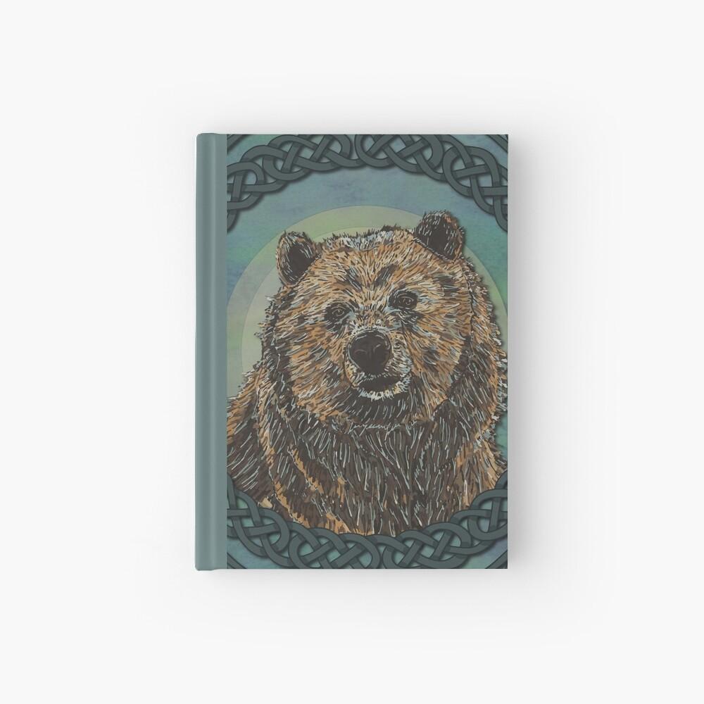 Brown Bear Hardcover Journal