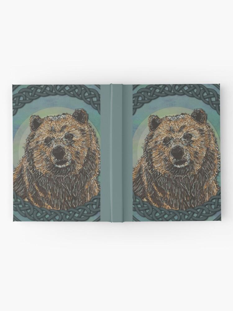 Alternate view of Brown Bear Hardcover Journal