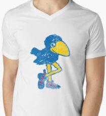 Vintage Jayhawk Men's V-Neck T-Shirt