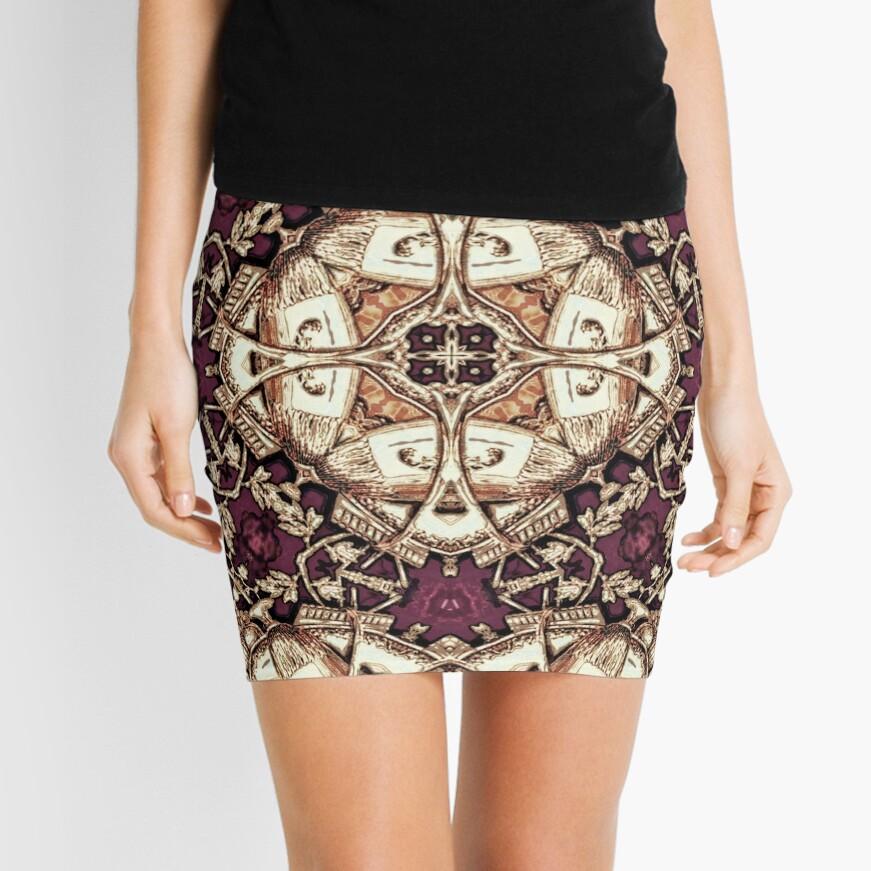 Krazy Kaleidoscope 1030 Mini Skirt