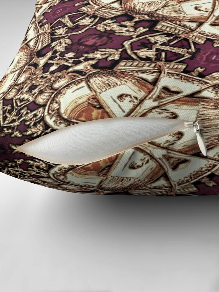 Alternate view of Krazy Kaleidoscope 1030 Throw Pillow