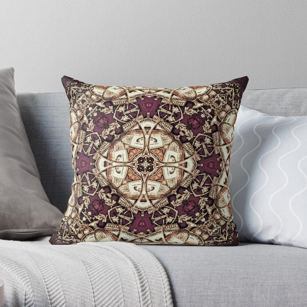 Krazy Kaleidoscope 1030 Throw Pillow