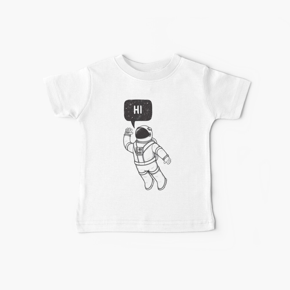 Greetings from space Baby T-Shirt