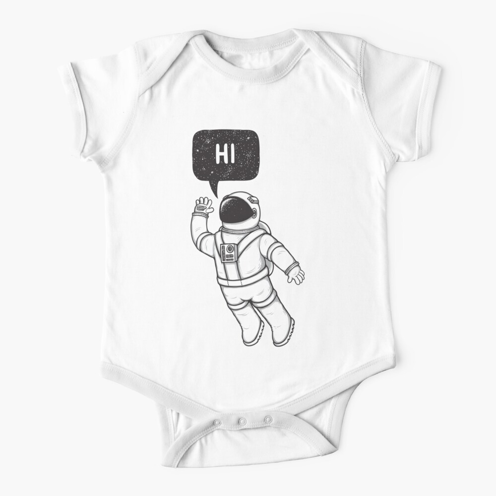 Greetings from space Baby One-Piece