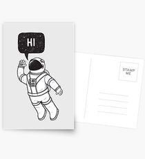 Greetings from space Postcards