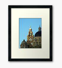 Royal liver building Framed Print