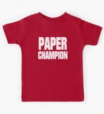 PAPER CHAMP Kids Tee