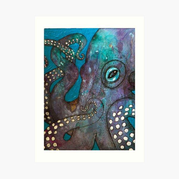 Octopus Garden Art Print