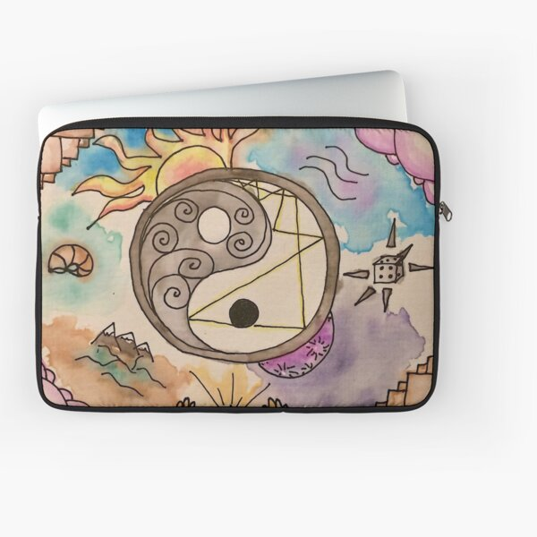 Eye Surrender To The I In The Sky Laptop Sleeve