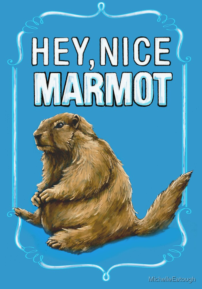 Quot Big Lebowski The Dude Hey Nice Marmot Quot By