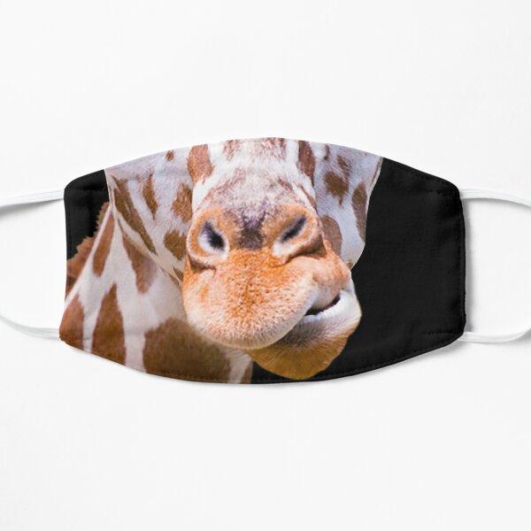 Giraffe lovers Cute Giraffe Gift I love Giraffes African Safari Animal  Flat Mask