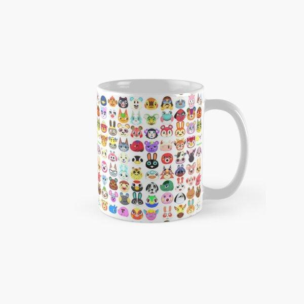 Villagers Pattern Classic Mug