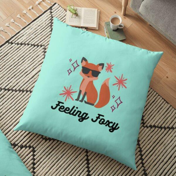 Feeling Foxy Floor Pillow