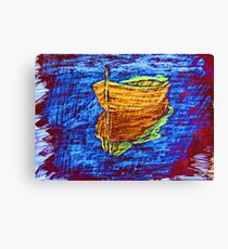 """Blue Daze"" by Carter L. Shepard Canvas Print"