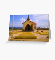 Aruba Chapel Greeting Card
