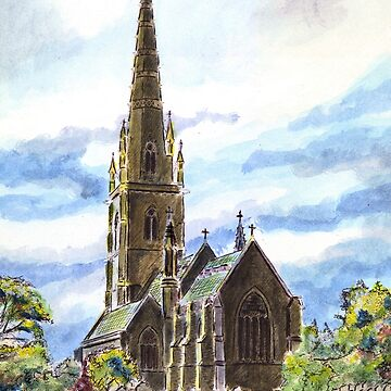 """The """"Marble Church"""" Bodelwyddan, Wales. by mkirkwood"""