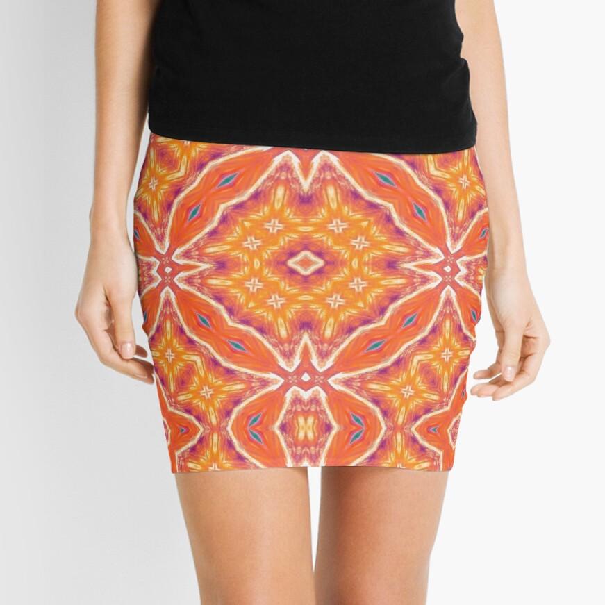 Orangeade Mini Skirt
