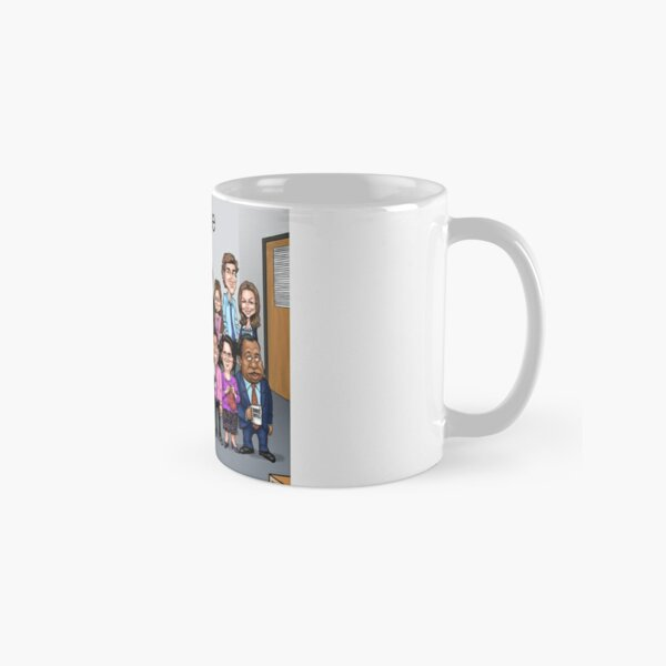 """The Cast of the TV series """"The Office"""" Classic Mug"""