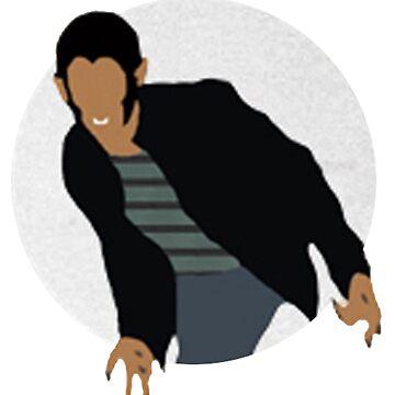 Teen Wolf Pack Graphic - Scott by twerewolfitude