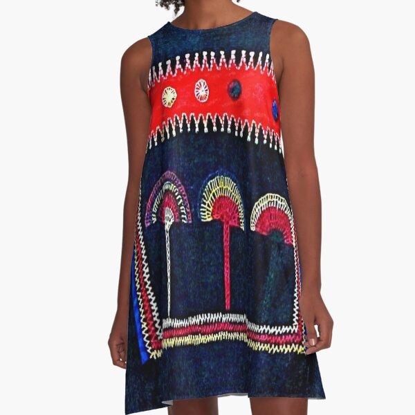 Akha Tunic  A-Line Dress