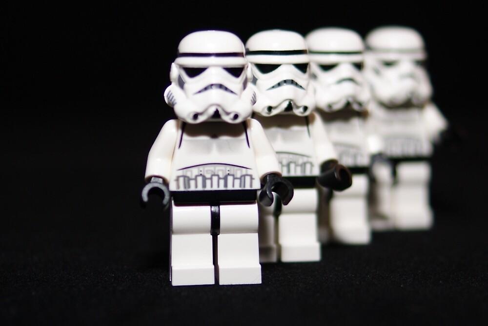Stormtrooper lineup by StuartSiviter