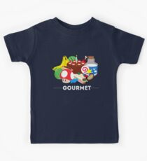 Gourmet - Video Game Food Tee Kids Clothes
