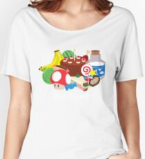 Gourmet - Video Game Food Tee Women's Relaxed Fit T-Shirt